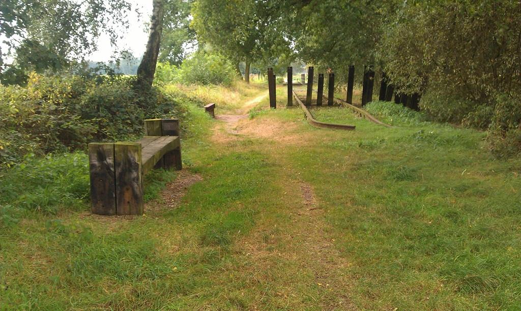 Oude spoordijk
